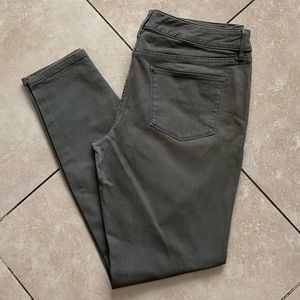 The Limited Denim Green Legging Jean Size 8R